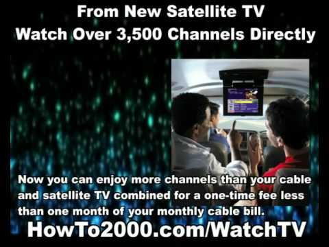 New Satellite TV | Watch Over 3500 Channels!