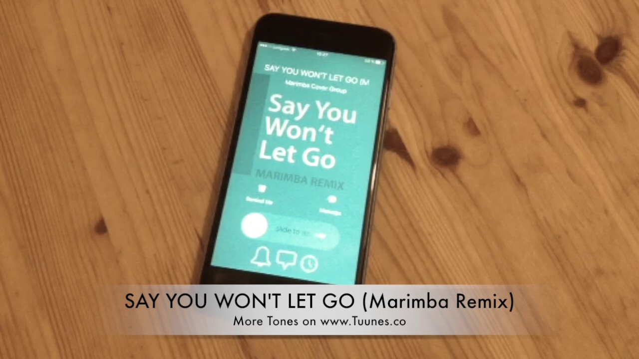 say you won t let go ringtone free download