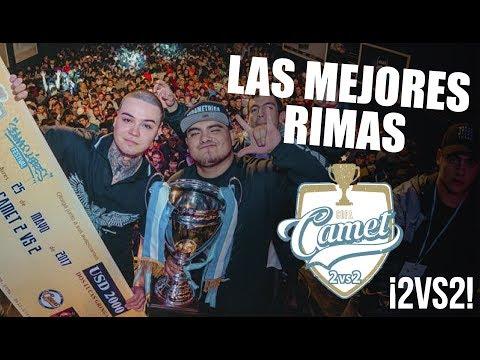 Los MEJORES PUNCHLINES De La COPA CAMET INTERNACIONAL ¡2vs2! 2017   B Producciones