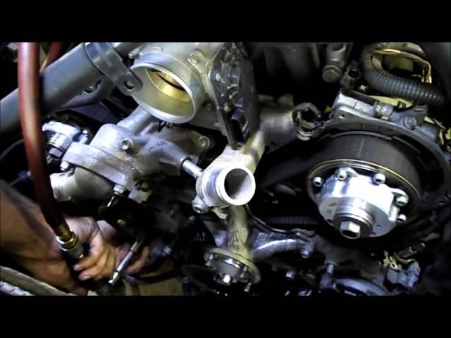Timing Belt Replacement 2006 Toyota Tundra 4.7L 2UZ-FE V8 - YouTube | Tundra 4 7 Engine Diagram |  | YouTube
