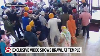 Video shows brawl at Greenwood Sikh temple