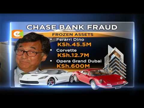 Chase bank wants chairman assets frozen after fraud revelations