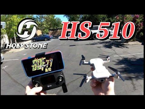 HolyStone HS510 GPS 4k 5g WiFi FPV Brushless Drone | Flight & Camera Test
