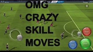 FIFA16 Mobile  CRAZY SKILL MOVES!!
