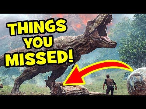 Jurassic World 2 Trailer NEW DINOSAURS, Easter Eggs & Things Missed - Jurassic World Fallen Kingdom