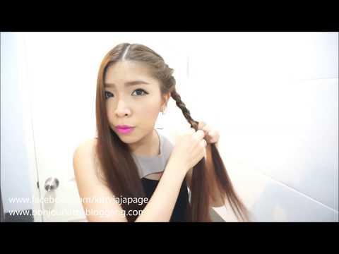 Hair tutorial : สวยหรูด้วยทรงผมง่ายๆ ทำได้ทุกวัน สามารถทำผมเองไปงานได้