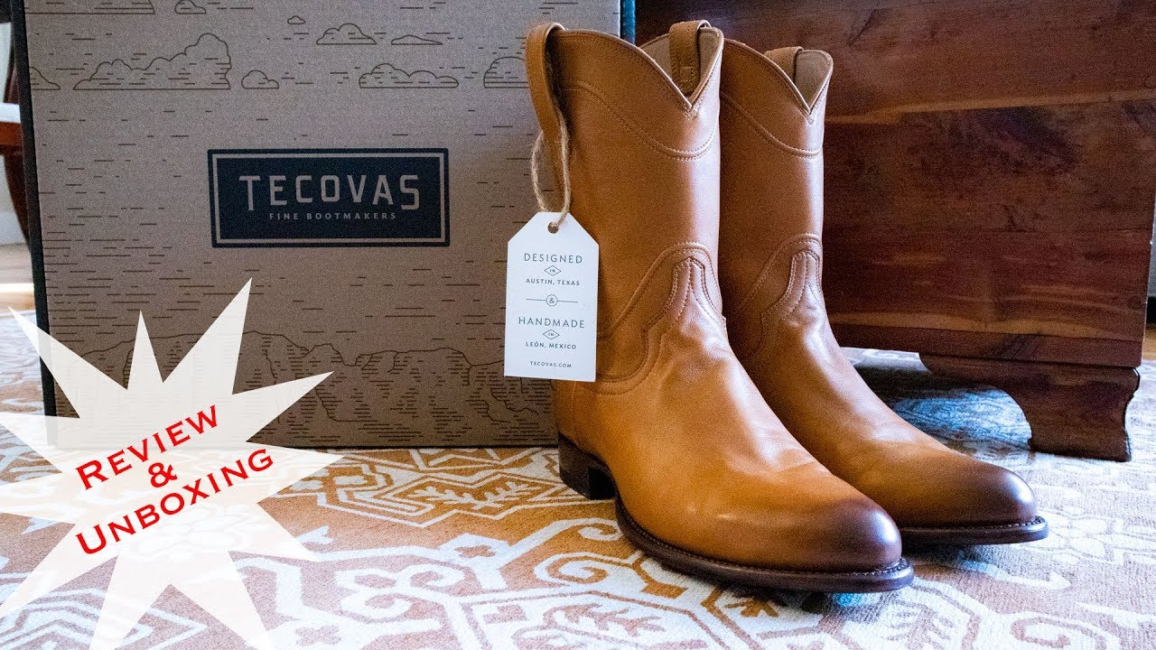 b9c5494c284 The Boot for Everyone: Tecovas Cowboy Boot Review and Unboxing