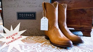 The Boot for Everyone: Tecovas Cowboy Boot Review and Unboxing