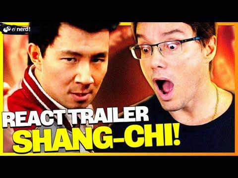 REACT! TRAILER DE SHANG-CHI E A LENDA DOS 10 ANÉIS!