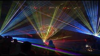 Лазерное шоу на свадьбе  - 2018