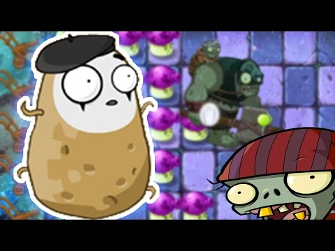 HOW TO BEAT THE HARDEST LEVEL IN PLANTS VS ZOMBIES 2.