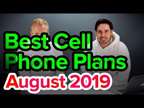Best Cell Phone Plans [August 2019]