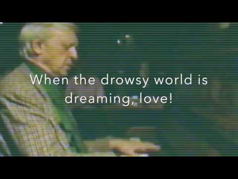 Anthony Burgess Sings The Young May Moon