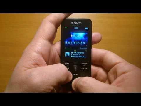 Краткий обзор плеера Sony Walkman NWZ-E584 (review)
