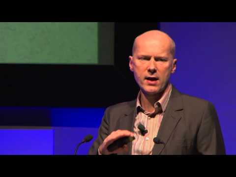 Michael Pawlyn speaking at the Business Continuity Institute World Conference