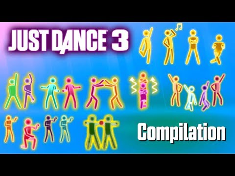 Just Dance 3 - Gold Moves Compilation