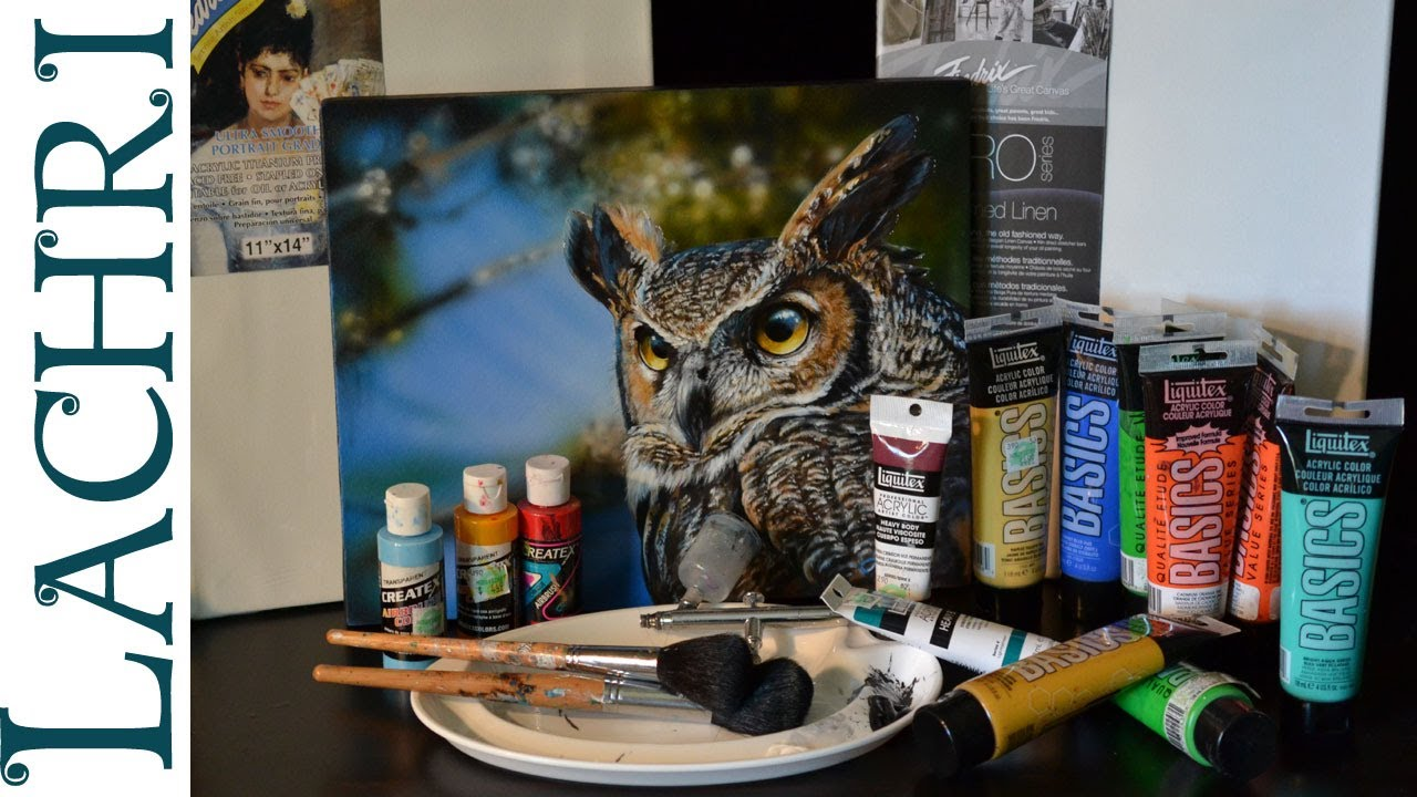my top 11 favorite acrylic painting supplies supply list from