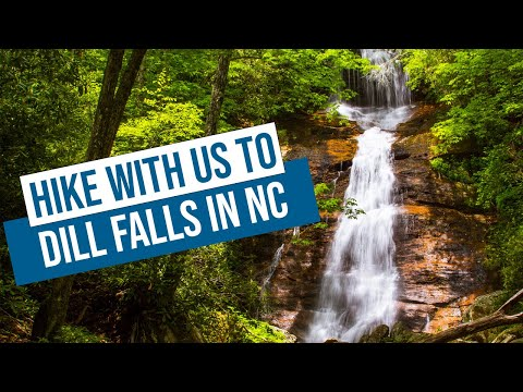 hiking-to-dill-falls-north-carolina