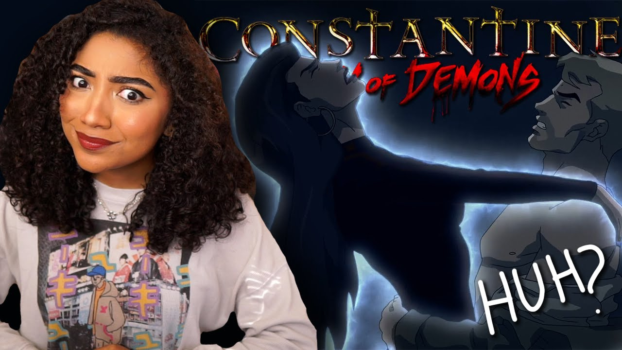 Download That's an interesting way to share information...  Constantine: City of Demons Reaction/Commentary