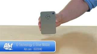 G-Technology G-Drive Mobile 1TB Silver Portable Hard Drive 0G03040 - Overview