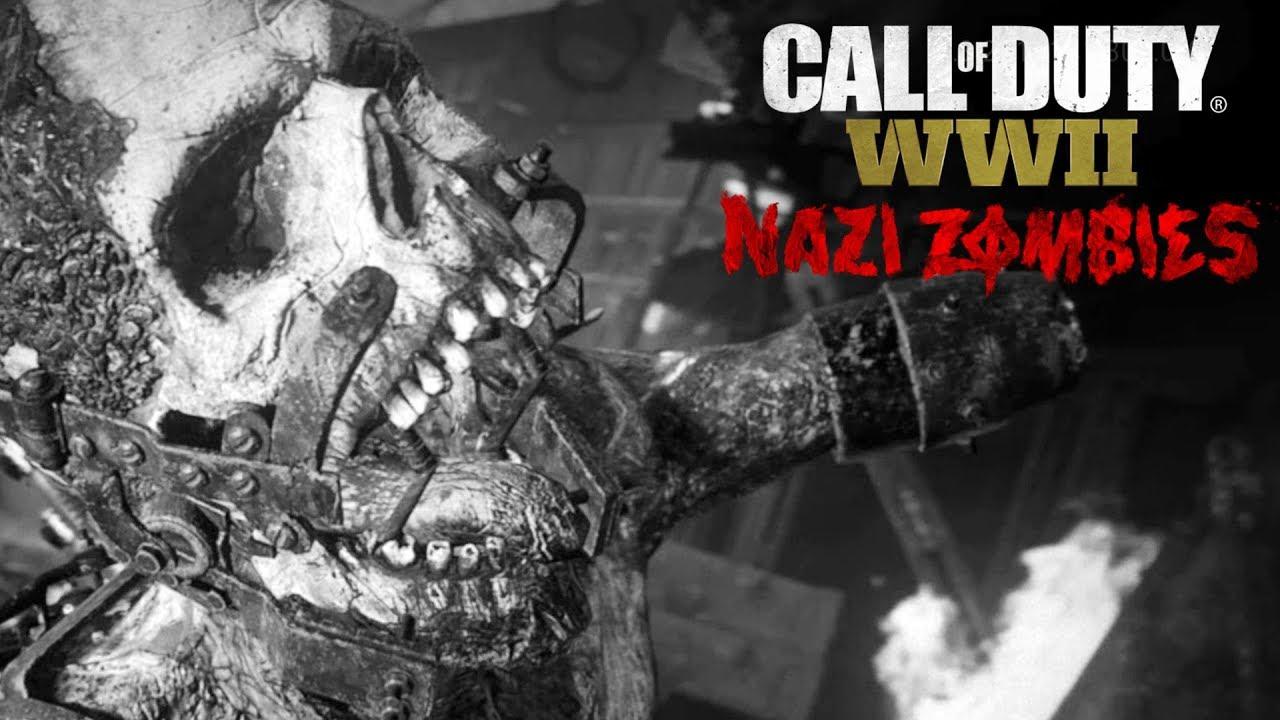 Call of duty wwii modo zombies em 4k 60fps jogando pela - Cod ww2 4k pc ...