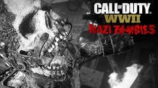 CALL OF DUTY WWII - MODO ZOMBIES em 4K 60fps! Jogando Pela Primeira Vez! (PC Gameplay)