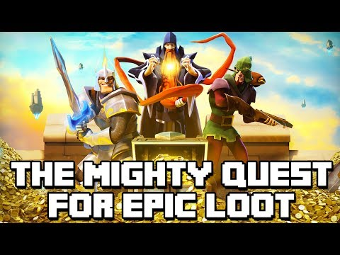 JOGO SUPER DIVERTIDO! - The Mighty Quest for Epic Loot