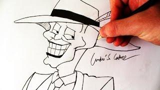 "Como Desenhar o Máscara - (How to Draw ""The Mask"") - SLAY DESENHOS #120"