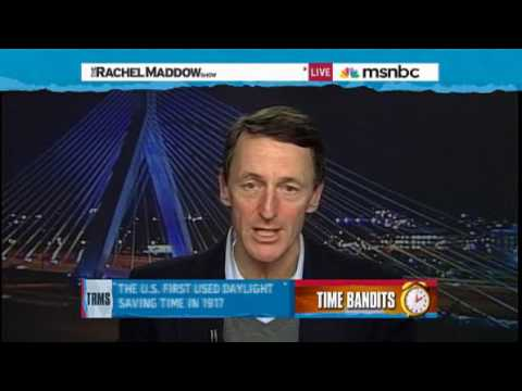 Rachel Maddow- Daylight-saving time explained  Rachel Maddow- Daylight-saving time explained