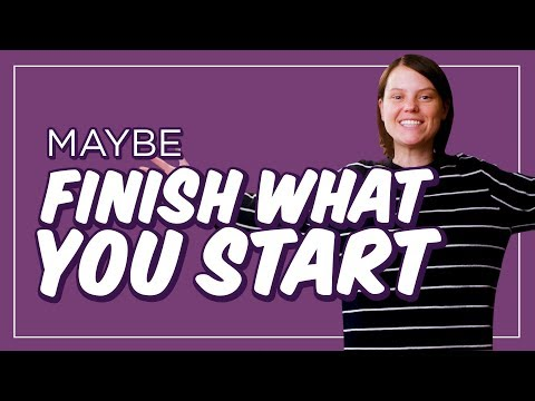 Download Youtube: How to Actually Finish Something, for Once | CH Shorts