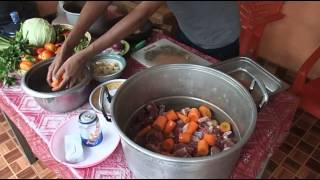 Caldeirada - delicious lamb stew from East Timor