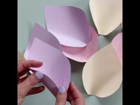 DIY Paper Flowers by Clever Poppy Short Video