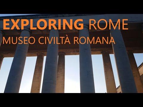 Museo Della Civiltà Romana, EUR ROMA