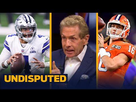 Skip & Shannon react to Jerry Jones dismissing drafting Trevor Lawrence for Dak | NFL | UNDISPUTED
