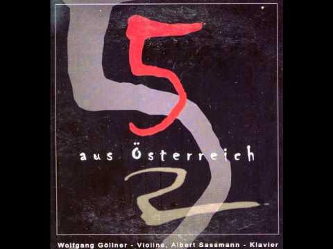 07 Anton Bruckner - Abendklänge für Violine und Klavier - Ruhig, nicht schnell - Wolfgang