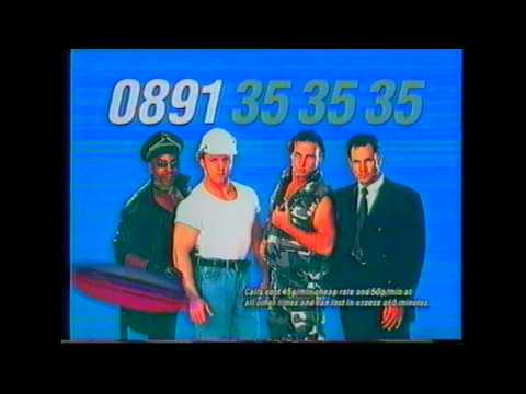 90's Gay Chat Advert