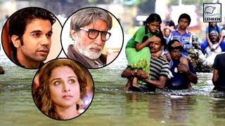 Bollywood Celebs REACT To Kerala Floods | Amitabh Bachchan, Rajkummar Rao, Shraddha Kapoor