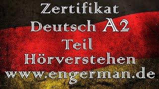 Zertifikat Deutsch A2 | Start Deutsch A2 | Modelltest 3