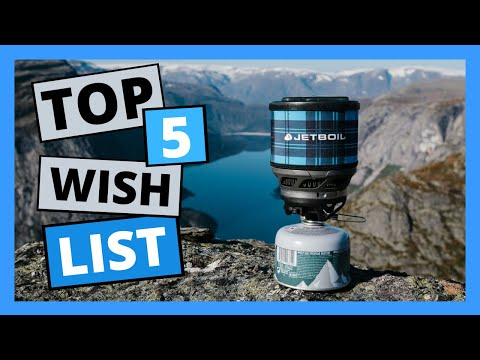 CAMPING gear I WANT in 2020 | My BACKPACKING gear wish list