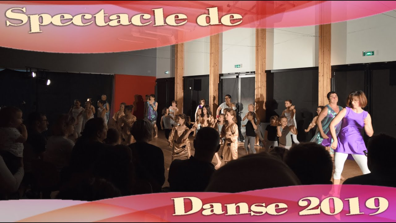 Spectacle de Danse 2019 - Familles Rurales St Pierre des Nids