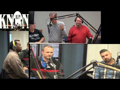 Knon 89.3, Lambda Weekly 2015.11.29 with Burke, Michael, Blake, Patti, Leron & David Taffet