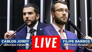 LIVE COM O DEPUTADO FEDERAL FILIPE BARROS - 12/04/2020