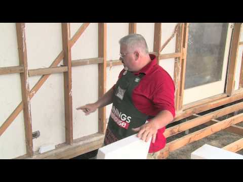 How To Install Polystyrene Insulation - DIY At Bunnings