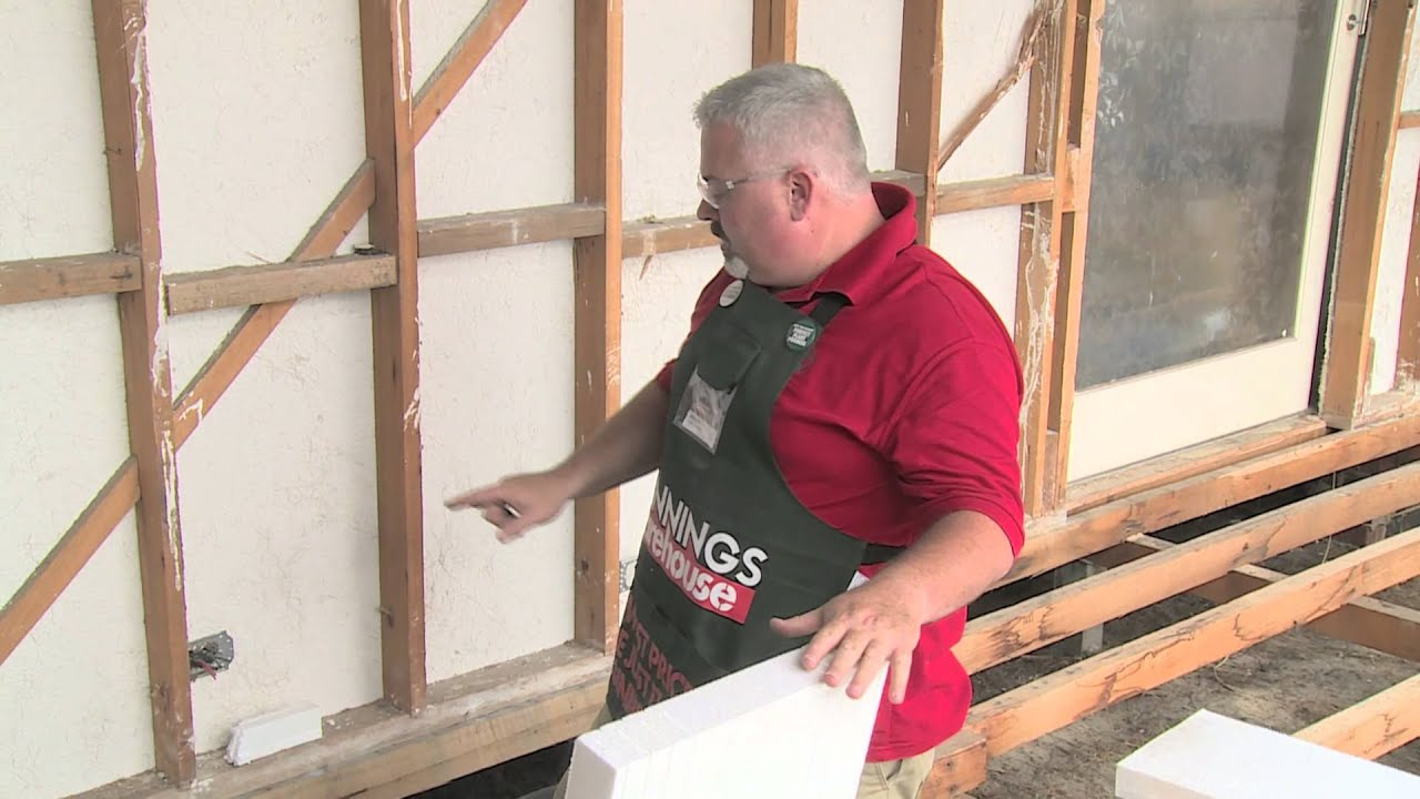 hight resolution of how to install polystyrene insulation diy at bunnings