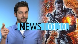 Mega-Update für Battlefield 4 & PlayStation Home für immer dicht - Mittwoch, 1. Oktober 2014