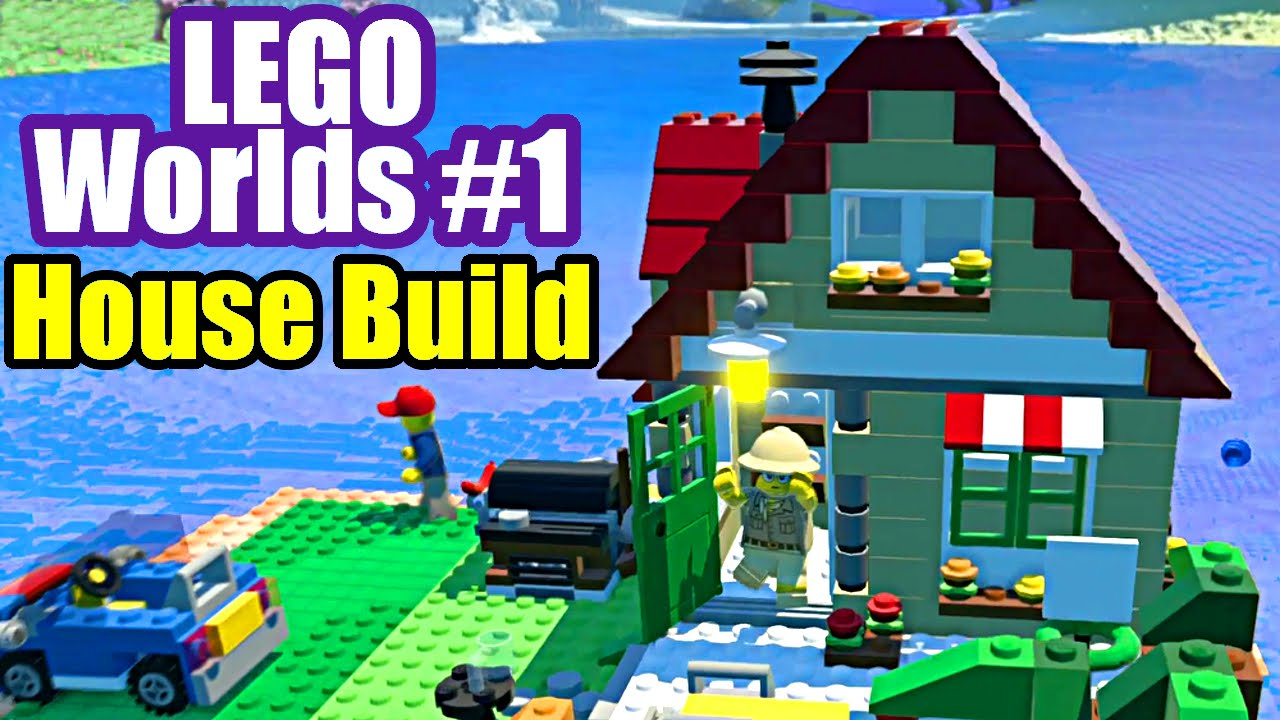 LEGO Worlds #1 FUNNY WORLDS, HOUSE, CAMEL, CARS (PC ...