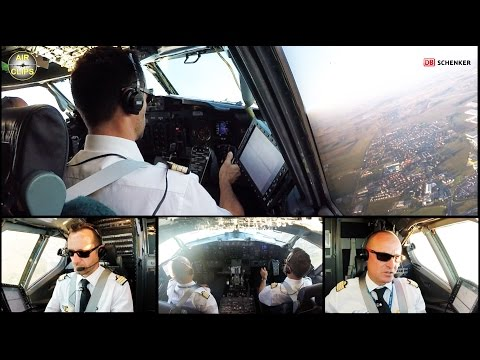 Thumbnail: B737-400SF ULTIMATE COCKPIT MOVIE, FULL ATC!!! ASL Airlines France [AirClips full flight series]