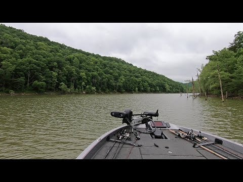 Cave Run Lake, KY Running The River Back To The Main Lake In May