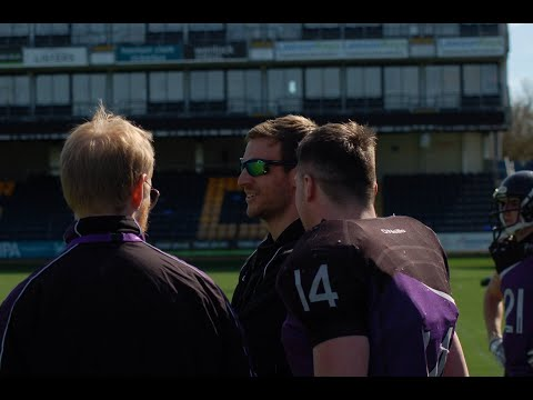 Dale Bottomley Yorkshire Academy of American Football Video Podcast #1