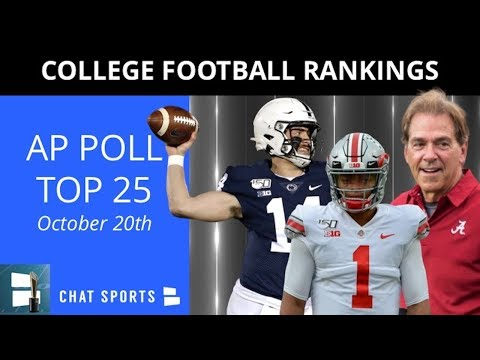 ap-poll:-college-football-top-25-rankings-for-week-8-+-tua-tagovailoa-injury-update